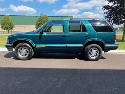1996 Chevrolet Blazer for sale at Caruzin Motors in Flint MI