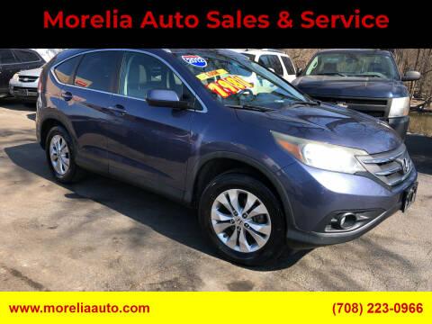 2012 Honda CR-V for sale at Morelia Auto Sales & Service in Maywood IL