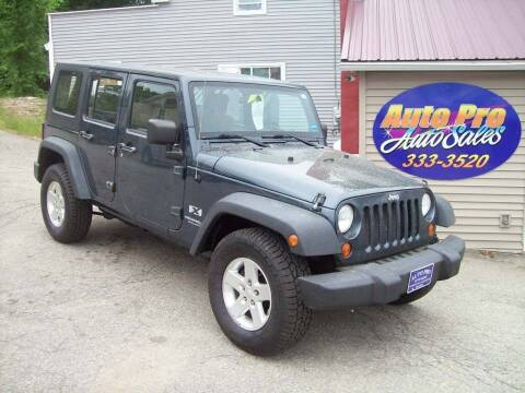 2008 Jeep Wrangler Unlimited for sale at Auto Pro Auto Sales-797 Sabattus St. in Lewiston ME
