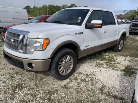 2012 Ford F-150 for sale at CROWN  DODGE CHRYSLER JEEP RAM FIAT in Pascagoula MS
