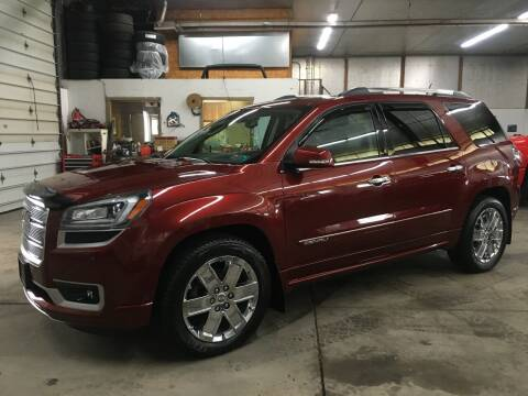 2015 GMC Acadia for sale at T James Motorsports in Gibsonia PA