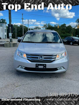 2012 Honda Odyssey for sale at Top End Auto in North Attleboro MA