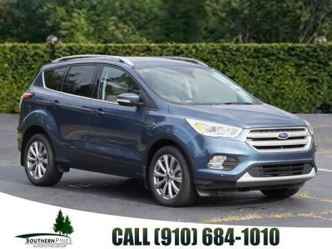 2018 Ford Escape for sale at PHIL SMITH AUTOMOTIVE GROUP - Pinehurst Nissan Kia in Southern Pines NC