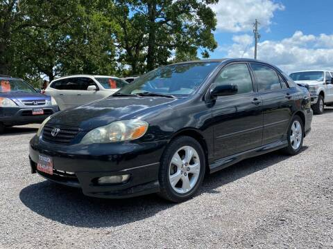 2006 Toyota Corolla for sale at TINKER MOTOR COMPANY in Indianola OK
