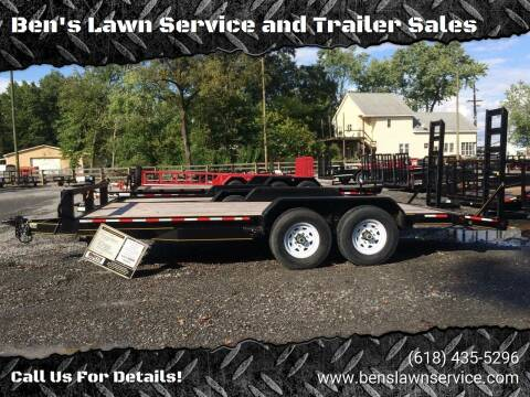 2017 Trailer Express 18' ECON EQUIP for sale at Ben's Lawn Service and Trailer Sales in Benton IL