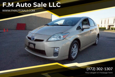 2010 Toyota Prius for sale at F.M Auto Sale LLC in Dallas TX