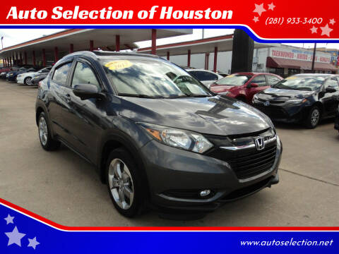 2017 Honda HR-V for sale at Auto Selection of Houston in Houston TX