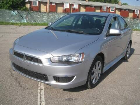 2013 Mitsubishi Lancer for sale at ELITE AUTOMOTIVE in Euclid OH