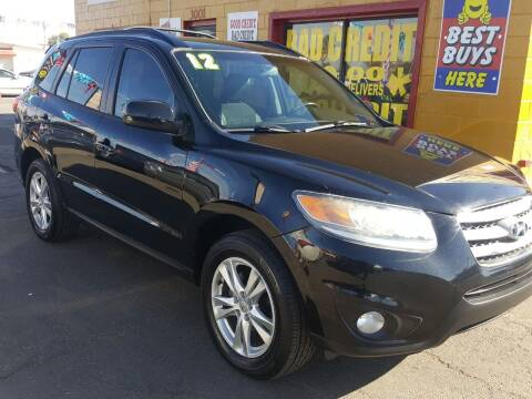 2012 Hyundai Santa Fe for sale at Sunday Car Company LLC in Phoenix AZ