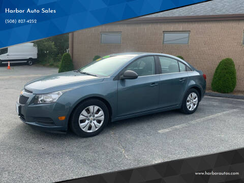 2012 Chevrolet Cruze for sale at Harbor Auto Sales in Hyannis MA