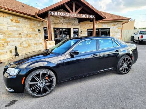 2017 Chrysler 300 for sale at Performance Motors Killeen Second Chance in Killeen TX