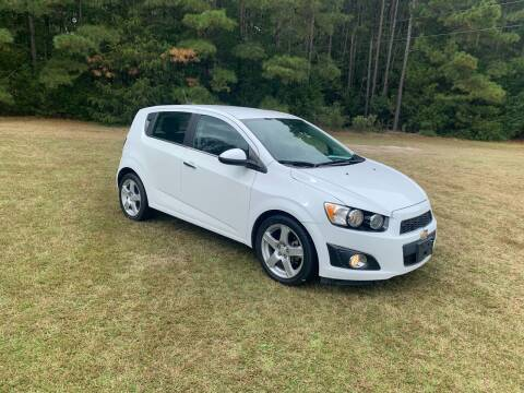 2016 Chevrolet Sonic for sale at Sanford Autopark in Sanford NC