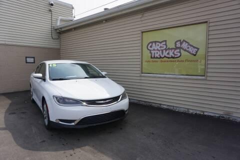 2015 Chrysler 200 for sale at Cars Trucks & More in Howell MI