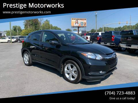 2016 Honda HR-V for sale at Prestige Motorworks in Concord NC