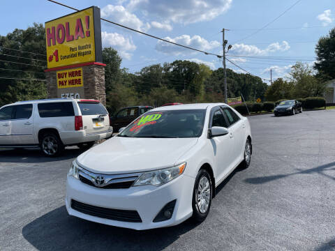 2012 Toyota Camry for sale at No Full Coverage Auto Sales in Austell GA