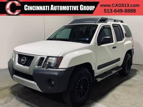 2014 Nissan Xterra for sale at Cincinnati Automotive Group in Lebanon OH