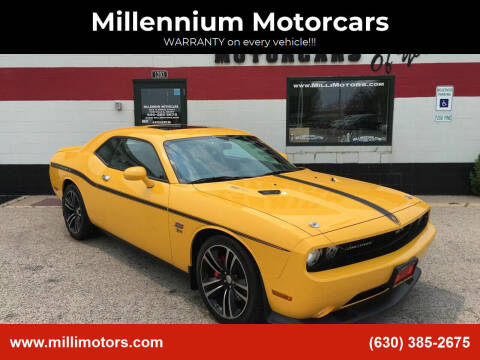 2012 Dodge Challenger for sale at Millennium Motorcars in Yorkville IL