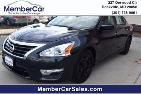 2013 Nissan Altima for sale at MemberCar in Rockville MD