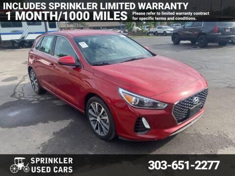 2018 Hyundai Elantra GT for sale at Sprinkler Used Cars in Longmont CO