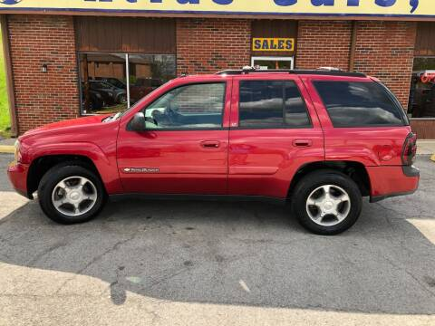2004 Chevrolet TrailBlazer for sale at Atlas Cars Inc. in Radcliff KY