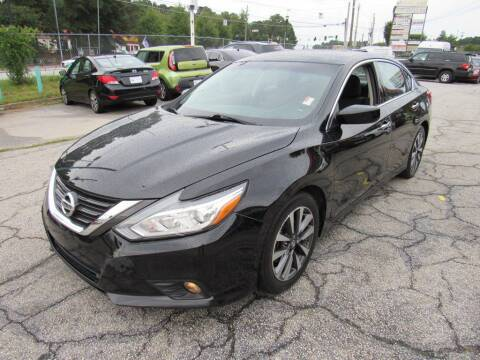 2017 Nissan Altima for sale at King of Auto in Stone Mountain GA