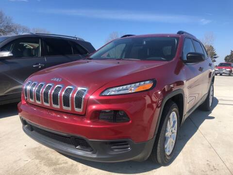 2017 Jeep Cherokee for sale at Wolff Auto Sales in Clarksville TN
