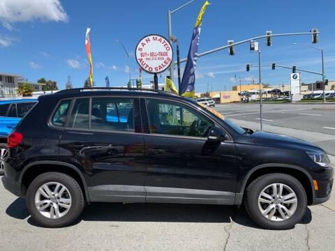 2015 Volkswagen Tiguan for sale at San Mateo Auto Sales in San Mateo CA