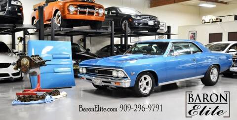 1966 Chevrolet Chevelle for sale at Baron Elite in Upland CA