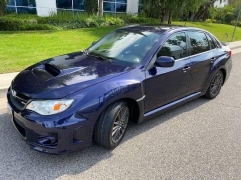 2012 Subaru Impreza for sale at Donada  Group Inc in Arleta CA