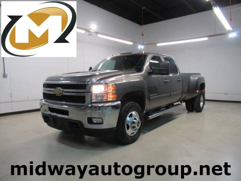 2012 Chevrolet Silverado 3500HD for sale at Midway Auto Group in Addison TX
