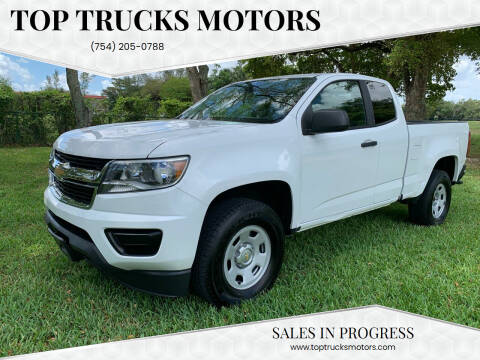 2015 Chevrolet Colorado for sale at Top Trucks Motors in Pompano Beach FL