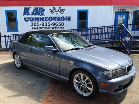 2005 BMW 3 Series for sale at Kar Connection in Miami FL