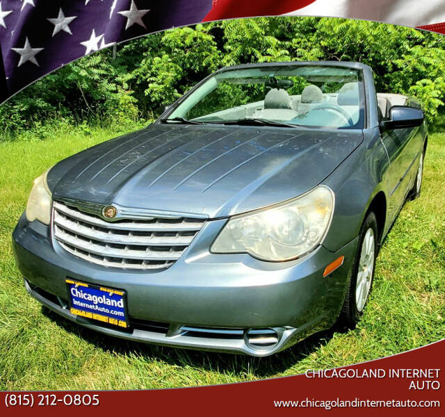 2008 Chrysler Sebring for sale at Chicagoland Internet Auto - 410 N Vine St New Lenox IL, 60451 in New Lenox IL