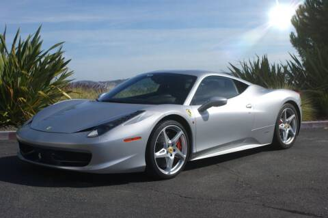 2011 Ferrari 458 Italia for sale at 415 Motorsports in San Rafael CA