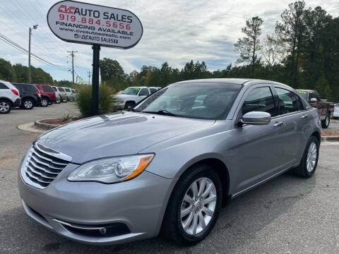 2013 Chrysler 200 for sale at CVC AUTO SALES in Durham NC