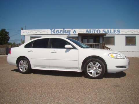 2014 Chevrolet Impala Limited for sale at Rocky's Auto Sales in Corpus Christi TX