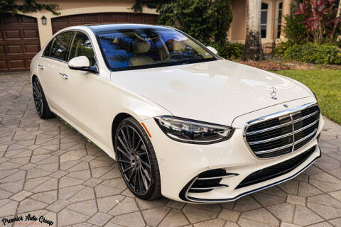 2021 Mercedes-Benz S-Class for sale at Premier Auto Group of South Florida in Wellington FL