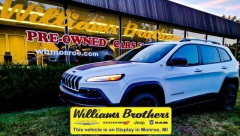 2018 Jeep Cherokee for sale at Williams Brothers - Pre-Owned Monroe in Monroe MI