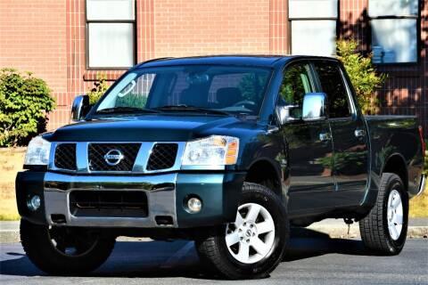 2004 Nissan Titan for sale at SEATTLE FINEST MOTORS in Lynnwood WA