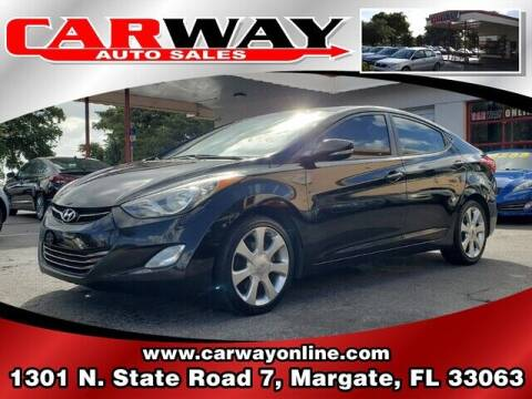 2011 Hyundai Elantra for sale at CARWAY Auto Sales in Margate FL