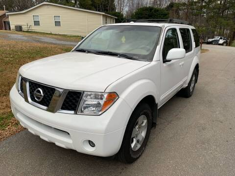 2006 Nissan Pathfinder for sale at CAR STOP INC in Duluth GA