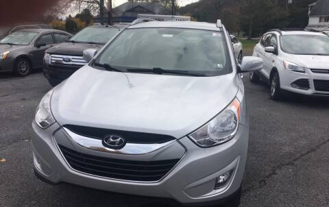 2011 Hyundai Tucson for sale at K B Motors in Clearfield PA
