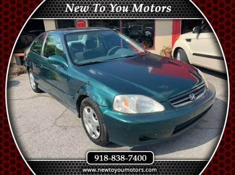 1999 Honda Civic for sale at New To You Motors in Tulsa OK