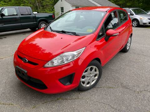 2013 Ford Fiesta for sale at Olney Auto Sales in Springfield VT
