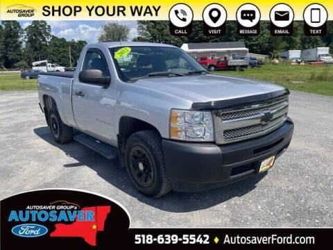 2012 Chevrolet Silverado 1500 for sale at Autosaver Ford in Comstock NY
