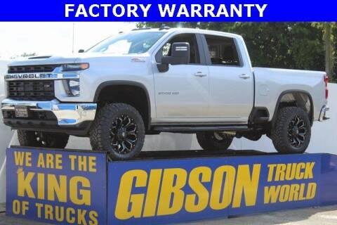 2021 Chevrolet Silverado 2500HD for sale at Gibson Truck World in Sanford FL