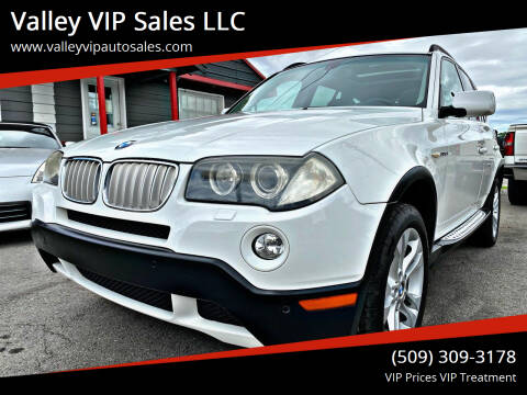 2008 BMW X3 for sale at Valley VIP Auto Sales LLC in Spokane Valley WA