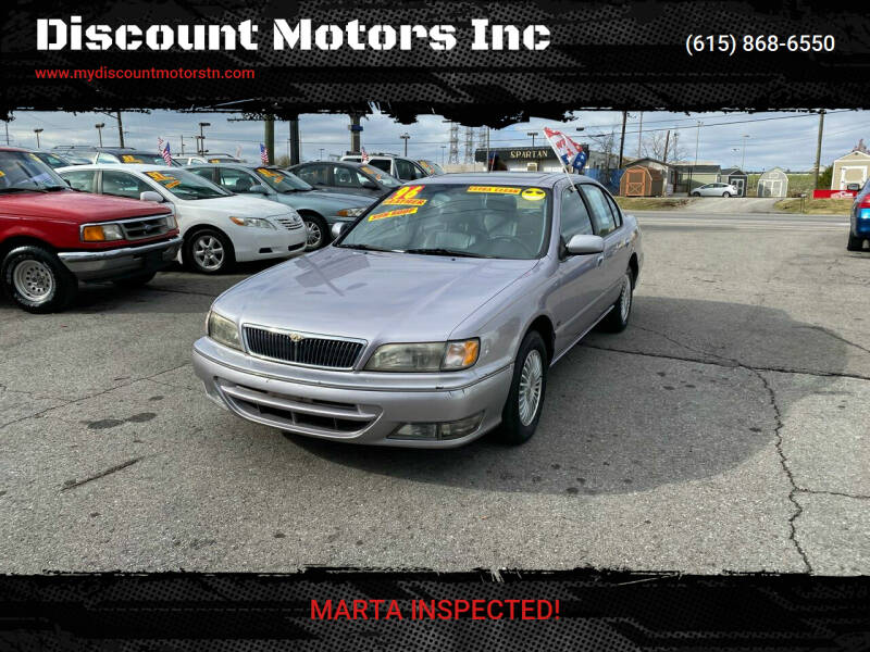 1996 Infiniti I30 for sale at Discount Motors Inc in Madison TN