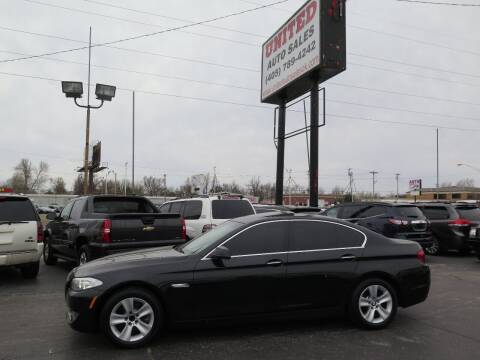2012 BMW 5 Series for sale at United Auto Sales in Oklahoma City OK