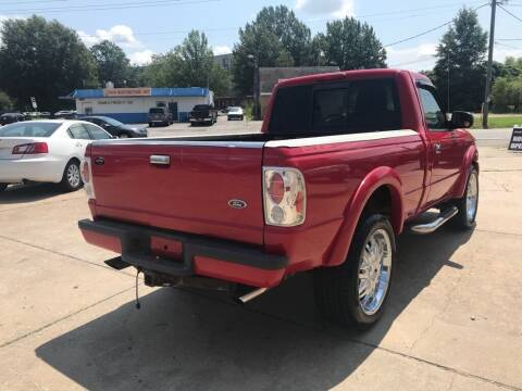 2004 Ford Ranger for sale at Ridetime Auto in Suffolk VA
